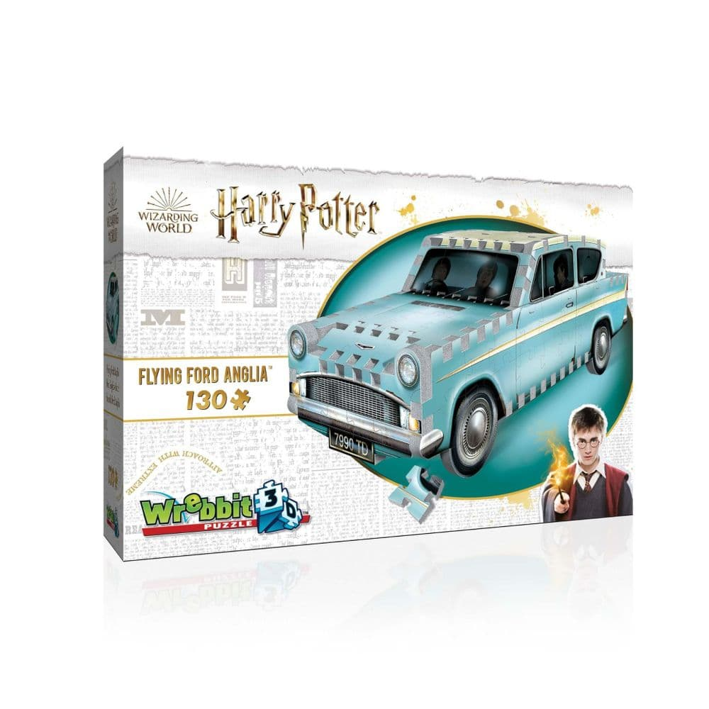 Harry Potter: Flying Ford Anglia 3D Puzzle (140pc)